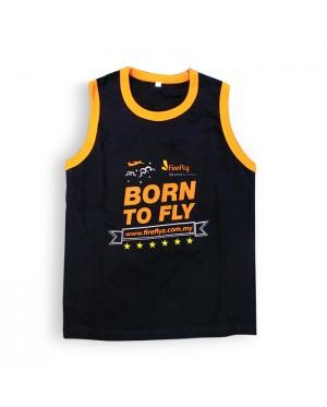 Firefly Kid Shirt Black (Born to fly)