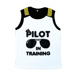 Firefly Kid Shirt White (Pilot in Training)