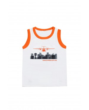 Firefly Kid Sleeveless (White)