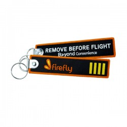 Firefly Remove Before Flight Keychain